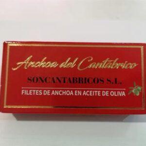 Anchoa Filete aceite de oliva cantábrico soncantábricos