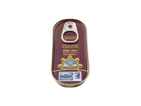 Anchoa filete aceite de oliva Codesa 50g