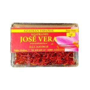 Azafrán José Vera en caja 1g