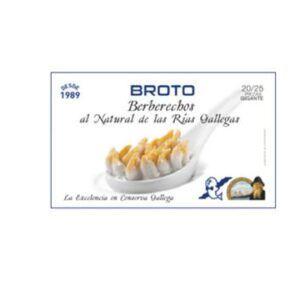 Berberechos Broto 30 a 40 piezas