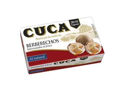 Berberechos Cuca 20 a 35 piezas