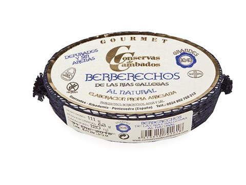 Berberechos Gourmet 30 a 40 piezas