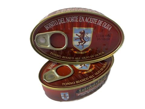 Bonito del norte Aceite de oliva Martínez de Luco 125g