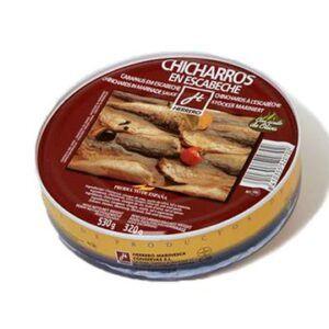 Chicharro frito en escabeche lata Herrero