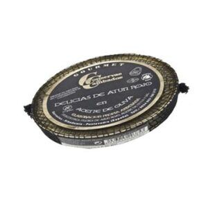 Delicias de atún rojo en aceite de oliva Gourmet 125g