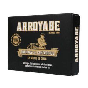 Filetes anchoa cantábrico aceite de oliva Arroyabe 11 a 12 piezas