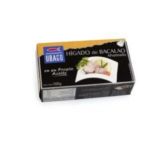 Hígado de bacalao Ubago 100g