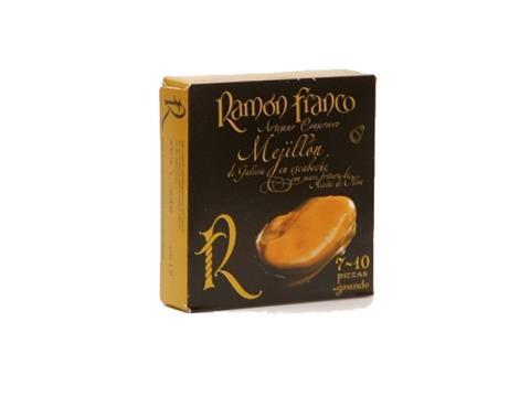 Mejillones en escabeche Ramón Franco 7 a 10 piezas