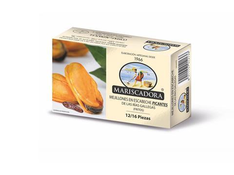 Mejillones Picante Mariscadora 12 a 16 piezas