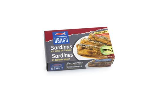 Sardina en salsa de tomate Ubago