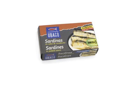 Sardinas en escabeche Ubago