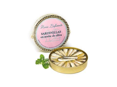 Sardinillas en aceite de oliva Rosa Lafuente
