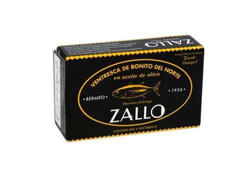 Ventresca bonitodel norte Aceite de Oliva Zallo