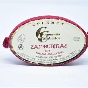 Zamburiñas en salsa gallega gourmet