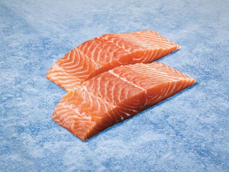 Salmón ahumado noruego goldfish